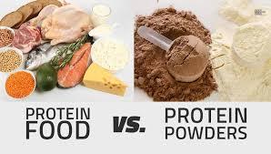 protein food vs protein powders bodybuilding india
