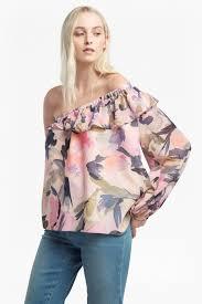 one shoulder blouse catlett georgette one shoulder blouse collections