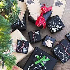 chalk wrapping paper convert stationery and wrapping in to carefully crafted creations