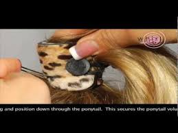 whirl a style how to use the whirl a style ponytail extender