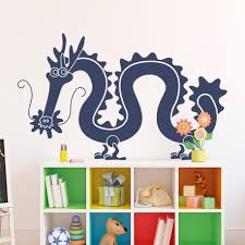 Cool Wall Decals by Chinese Dragon Wall Cool Dragon Wall Decals Home Decor Ideas