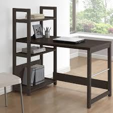 amazon com corliving wfp 580 d folio bookshelf styled desk rich