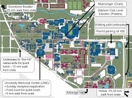 University Of Utah Campus Map by Tailgating Spots Allbuffs Unofficial Fan Site For The
