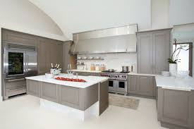 Grey Kitchen Cabinets by White Kitchen Cabinets With Grey Countertops Miu Miu Borse Homes