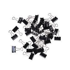 bureau de liaison 80 pcs mini métal papier binder de bureau de liaison mentale
