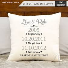 2nd anniversary gift 2nd anniversary cotton gift personalized anniversary by 1000 ideas