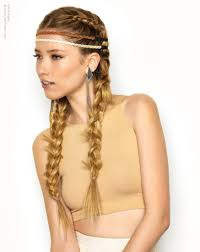 hairstyles with headbands foe mature women exotic hairstyle with braids and two headbands