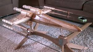 themed coffee tables wars fans prepare for war this x wing coffee table