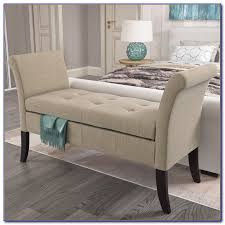 Bench With Rolled Arms Upholstered Bench With Rolled Arms Bench Home Decorating Ideas