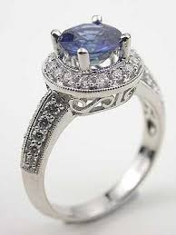 sapphire rings vintage images Vintage engagement rings with sapphires 77 best trending jpg