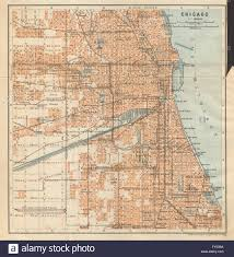 Chicago Illinois Map by Chicago Town City Plan Illinois Lawn Elsdon Austin Lynn Clyde