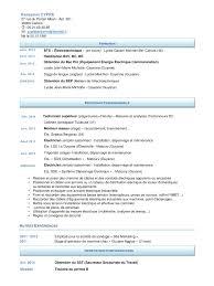 technicien bureau d étude électricité cv cv pdf fichier pdf