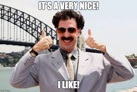 Thumbs Up Meme - borat thumbs up meme generator imgflip