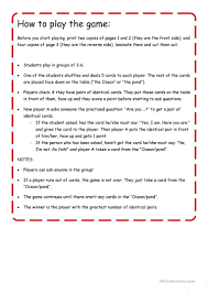 how to play the fish table go fish feelings worksheet free esl printable worksheets made by