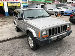 used jeep cherokee for sale used 2001 jeep cherokee sport 4wd suv 4 990 00