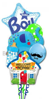 welcome home balloon bouquet new born baby boy welcome home balloon bouquet delivery in dubai