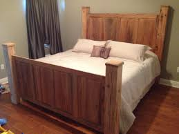 Custom Bedroom Furniture Custom Sinker Cypress Headboard And Footboard Beautiful For