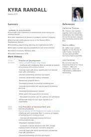 Perl Resume Sample by Director Of Development Resume Samples Visualcv Resume Samples