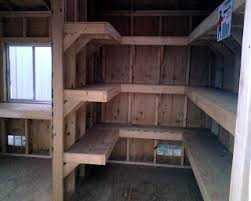 How To Build A Shed Base Out Of Wood by 25 Best Shed Shelving Ideas On Pinterest Tool Shed Organizing