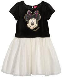 disney minnie mouse velvet tutu dress girls 4 6x
