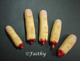 grossest halloween food pink little cake halloween series day 28 marzipan finger