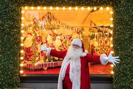 selfridges unveils its famous christmas window displays with 67