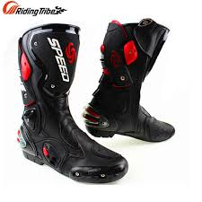 dirt bike motorcycle boots microfiber leather motorcycle boots men s speed racing dirt bike