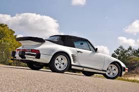porsche 930 turbo blue 1987 porsche 911 930 turbo cabriolet slant nose carrera turbo