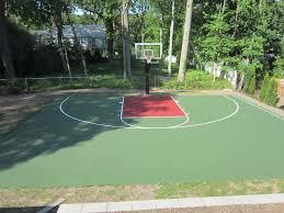 Backyard Sport Courts Best 25 Backyard Basketball Court Ideas On Pinterest Outdoor