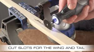 Balsa Wood Projects For Free by How To Make A Balsa Wood Glider With The Dremel Micro 8050 Youtube
