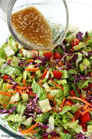 Garden Salad Ideas Asian Chopped Salad With Sesame Vinaigrette Vinaigrette Salad And