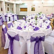 purple decorations purple wedding table decoration impressive purple and white