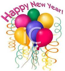 happy new year balloon clipart of happy new year balloons
