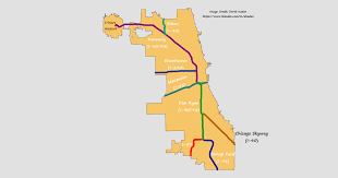 Chicago Suburbs Map Chicago U0027s Interstate Names Explained