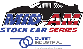 american car logos mid american stock car series presented by quest industrial go