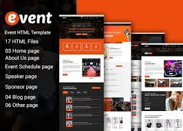 Html Event Template event html 5 template html css themes creative market