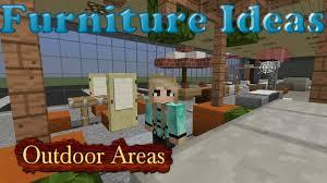 minecraft furniture ideas kiwi designs for outdoor furniture