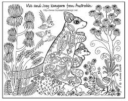 international children coloring pages australia coloring