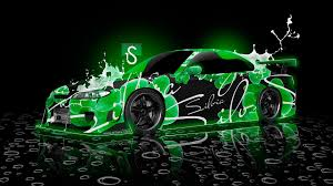 green neon desktop background cool images free colourful pictures
