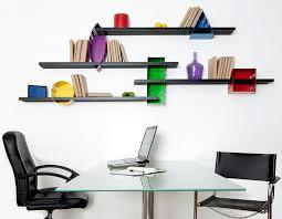 wall shelf design office shelves interior design