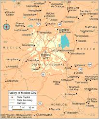me a map of mexico mexico city map
