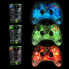xbox 360 controller wired microsoft afterglow assorted pdp
