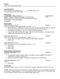 Resume Templates For Freshers Resume Template Freshers Organized Yourmomhatesthis