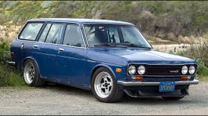nissan datsun 510 modified datsun 510 wagon one take youtube