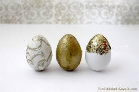 fancy easter eggs no dye easter eggs dollar store gold leafing find it make it