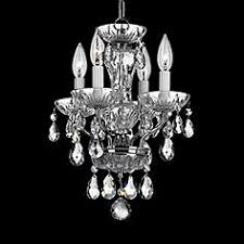 Mini Chrome Chandelier Mini Chandeliers Luxe Looks For The Bedroom Bathrooms Closet