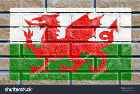 How Old Is The Welsh Flag Wales Flag Painted On Old Brick Stock Illustration 368540471