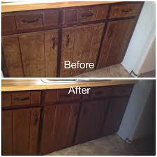 kitchen cabinet stain ideas challenge minwax gel stain my worn kitchen cabinets stained with in