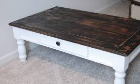 Cool Wood Furniture Ideas On The V Side From Crappy To Clean Crisp U0026 Cottage A Coffee