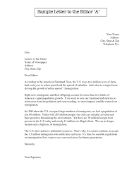 letters format sample plain tips writing letter to the editor example with four